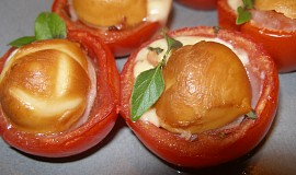 Plněná zapečená rajčata