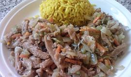 Robi maso na způsob číny