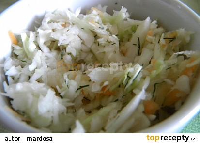 Rychlý zeleninový salát
