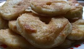 Smažené jablíčkové kroužky