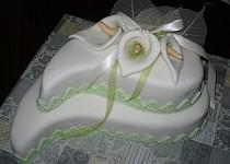 Svatební slzy s kalami