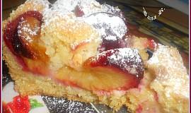 Švestkový koláč s mandlemi