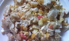 Zapečené těstoviny s bylinkovým tofu
