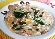 Zeleninová polévka (hustá)
