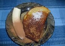 Celozrnné placičky s banánem