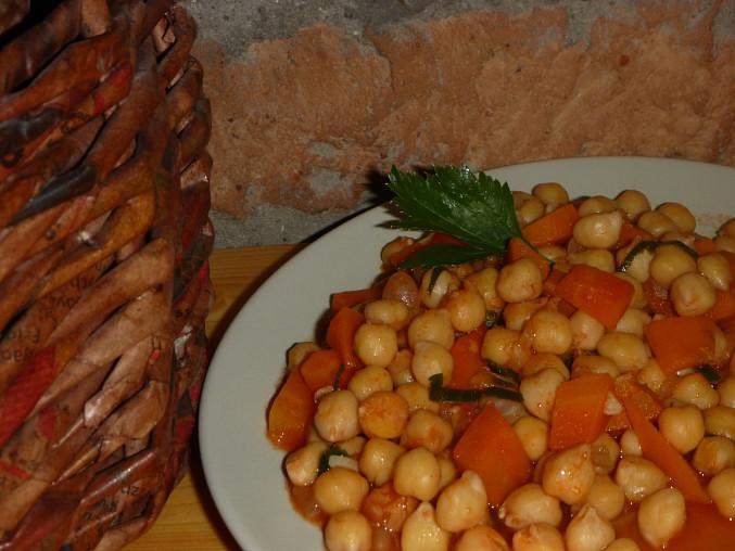 Cizrna s mrkví