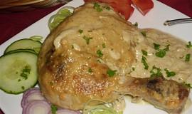 Jednoduché kuře na hořčici