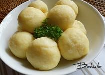 Jemné bramborové knedlíky