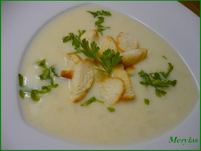 Kedlubnová nebo květáková mléčná polévka, Květáková polévka