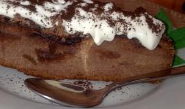 Křehký čokoládový  moučník