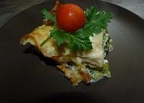 Lasagne s brokolicí a sýrem