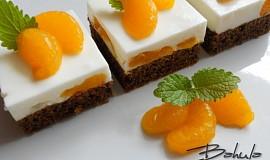 Mandarinkové řezy s kefírem