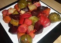 Pečená zelenina na bylinkách
