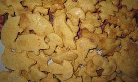 Slané zázvorové sušenky