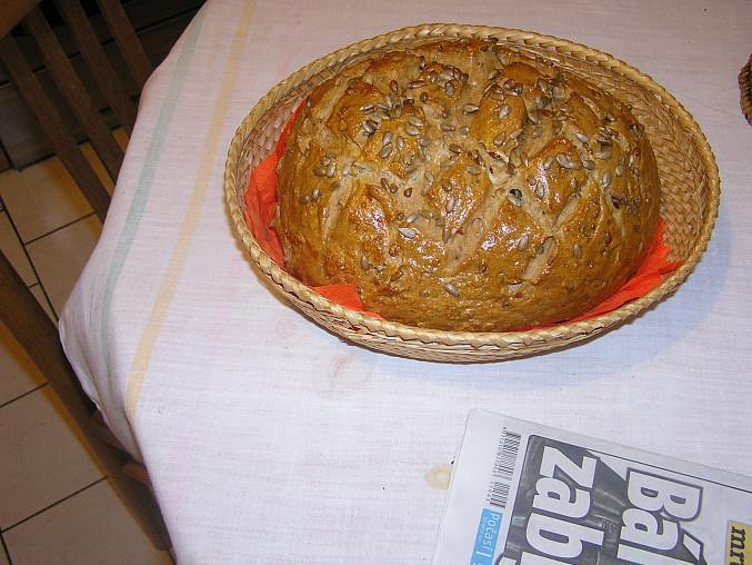 Slunečnicový chleba II
