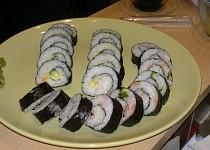 Sushi / Maki a California Rolls