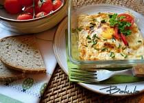 Vaječné mističky se šunkou