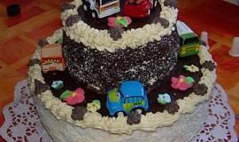 Vanilkový dort z jednoho vajíčka – Retro