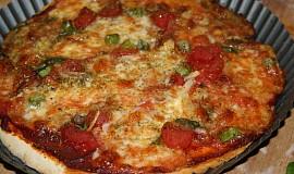 Celozrnná vegetariánská pizza - bez kynutí