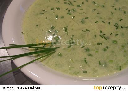 Chřestovo - hrášková polévka