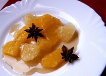 Citrusový salát s badyánovým sirupem