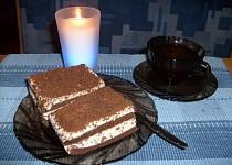 Kakaový dortík s krémem z mascarpone