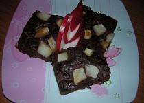 Kakaový koláč z jablek