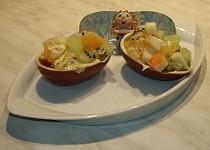 Kinder mušle (salát)
