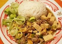 Ma-bo dófu (tofu s mletým masem)