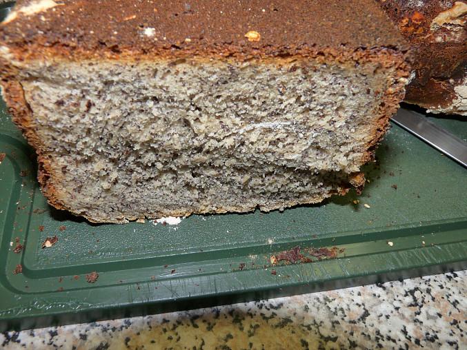 Maková buchta ze směsi na Ciabattu v domácí pekárně