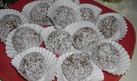 Máslové kokosové  kuličky