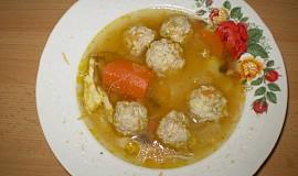 Polévka karbanátek