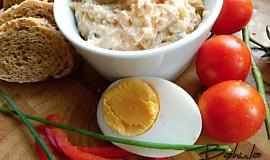 Pomazánka z vepřovky s vejcem