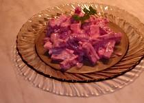 Řepový salát s nivou