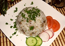 Rybičky s rýží - levný recept