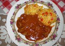 Rýžový pilaf s játry