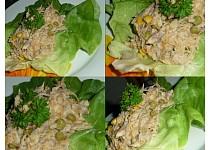 Salát z uzené makrely