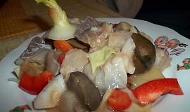 Slanečkový salát