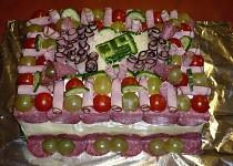 Slaný dort (k narozeninám)