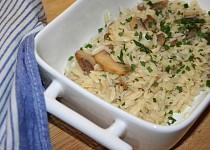 Sýrová těstovinová rýže (orzo)