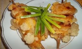 Sýrové špízy s ananasem