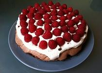 Čokoládový dort Pavlova