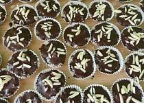 Kokosové košíčky v čokoládě