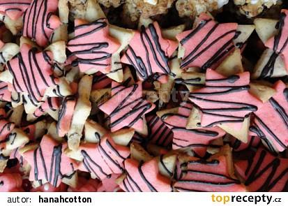 Ořechovo-pudinkové hvězdy