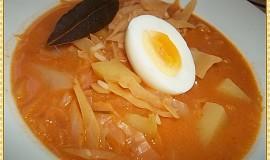 Polévka z čerstvého zelíčka