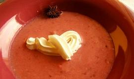 Švestková krémová polévka - Krémová kdoulová polévka
