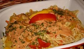 Těstovinový salát s mangem
