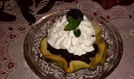 Vafle s lesním ovocem