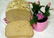 Cibulový chléb s jablečnou vlákninou bez lepku, mléka a vajec