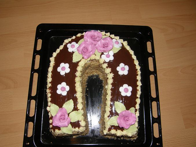 můj první dort :-)